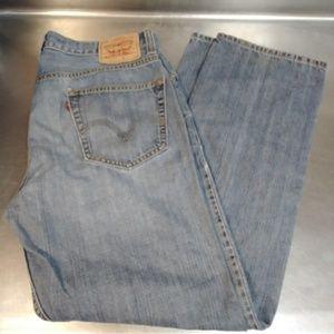 Levi's 505 Size 36x32 Straight Blue Jeans!